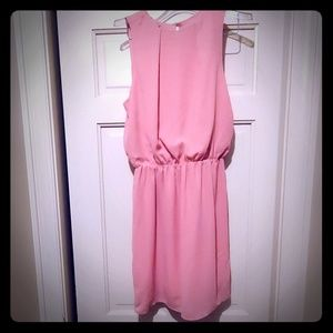 Pink sleeveless H&M dress size 4